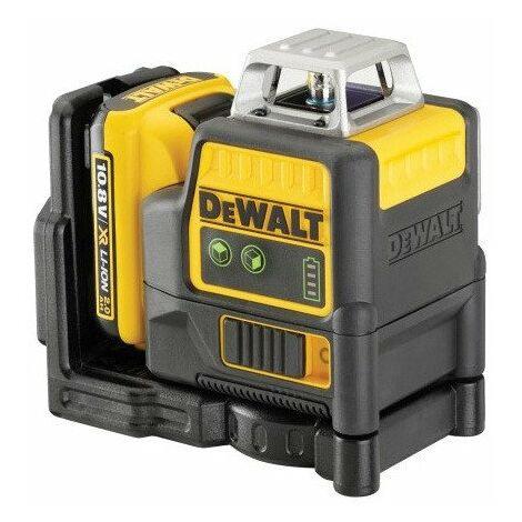 DeWalt - Niveau laser ligne 10,8V 2Ah - DCE0811D1G - TNT