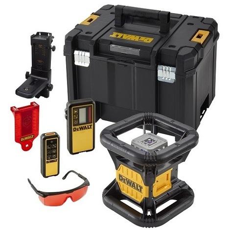 DeWalt - Niveau laser rotatif 18V double pente extérieur sans batterie ni chargeur - DCE079NR
