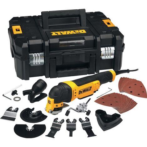 DeWalt Osz. Multi-Tool Set 300 Watt in T STAK - DWE315KT-QS