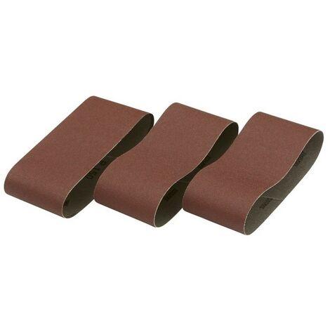 DEWALT Pack de 3 bandas de lija 64x356