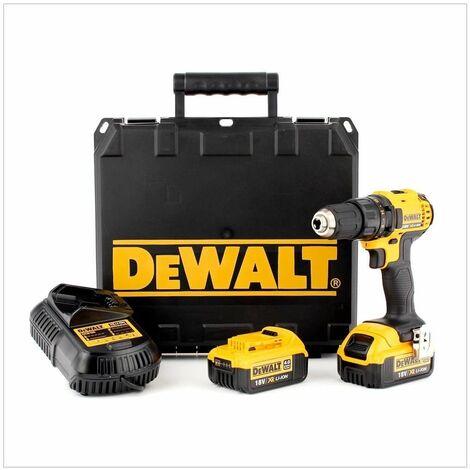 Perceuse-Visseuse - 18 V 4 Ah- 2 Batteries - XR - DEWALT, DCD780M2-QW