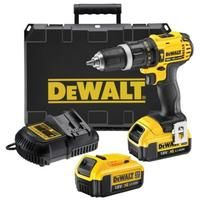DeWalt - Perceuse-Visseuse à percussion compacte 13 mm 18V Li-Ion (2x4Ah) 60Nm - DCD785M2