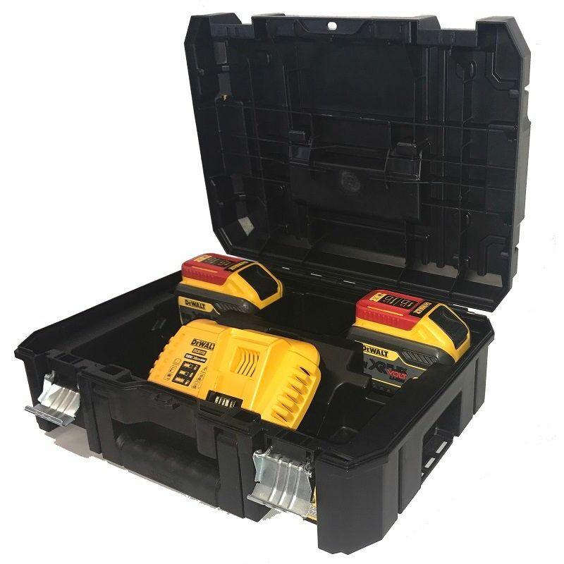 DeWALT Set de base 2x batterie 54V /162 Wh - DCB118X2T-QW