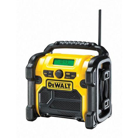 DEWALT RADIO COMPACTA A BATERÍA/CABLE XR DCR019-QW