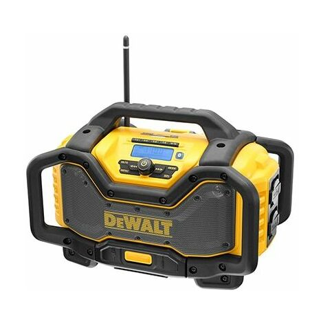 DEWALT Radio de chantier Multi Voltage 18/54V Sans batterie, ni chargeur DCR027