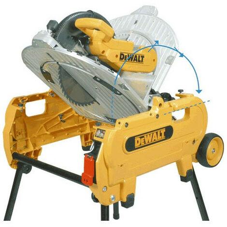 DeWalt - Scie à table et à onglets retournable Ø305mm 2000W - D27107