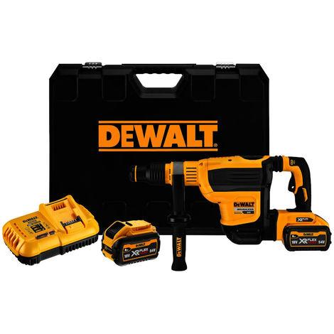DeWALT SDS-max Marteau combiné 45mm 2x Batterie 54 V / 162 Wh - DCH614X2-QW
