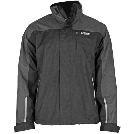 Dewalt Storm Grey/Black Waterproof Jacket Large DEWSTORML