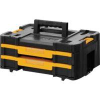DeWalt TSTAK Box IV, Werkzeugkiste, schwarz/gelb