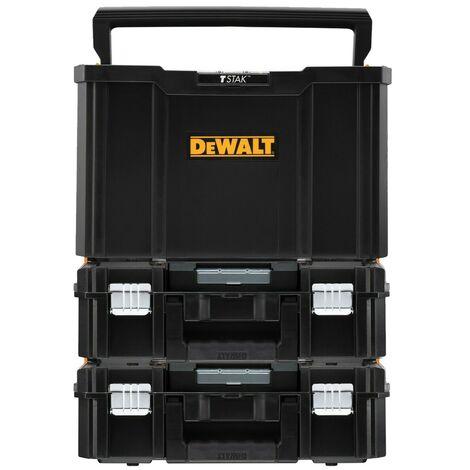 Dewalt Tstak Tool Carry Open Tote Tool Box Carrier TStak II Case - Triple Pack