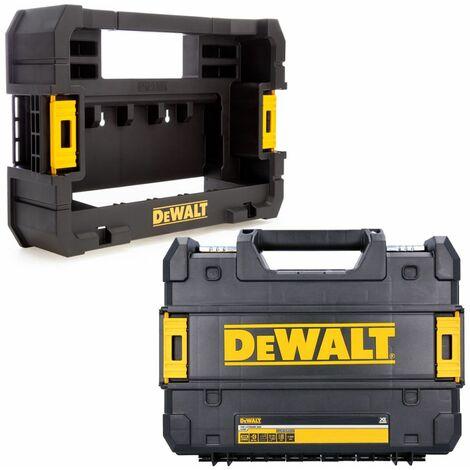 Dewalt TStak Toolbox Storage Box / Case With T-STAK Accessory Caddy