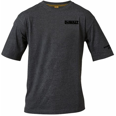 DEWALT TYPHOON T SHIRT XXL Typhoon Charcoal Grey T Shirt XX Large