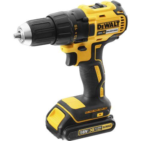 DeWALT Visseuse/perceuse 18V / 1,5 Ah, 2 batteries, chargeur en coffret - DCD777S2T-QW