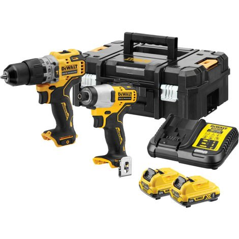 DeWalt XR Brushless Sub-Compact Twin Pack 12V 2 x 3.0Ah Li-ion