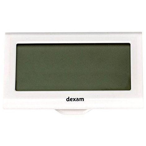 Dexam 8x 4,8x 1,6cm écran tactile Clip Minuteur et horloge, noir