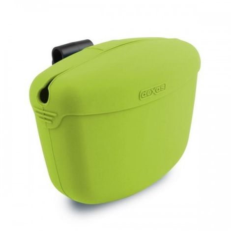 Dexas Popware Pooch Pouch Dog Treat Container (One Size) (Green)