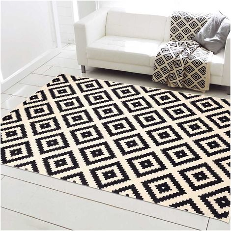 DEZENCO - tapis moderne Orma - tapis decoration - tapis salon tapis chambre