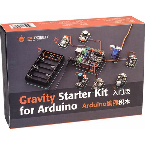 DFRobot KIT0111 Gravity: Starter Kit for Arduino