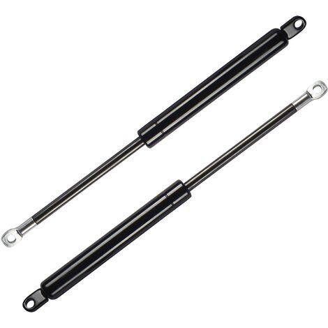 DHOME Pack 2 Amortiguadores para Canape Abatible Profesionales Tuerca Brida pistones (1000N Sólo pistones (120 a 135cm Ancho))