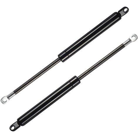 DHOME Pack 2 Amortiguadores para Canape Abatible Profesionales Tuerca Brida pistones (600N Sólo pistones (90 y Menos de Ancho))