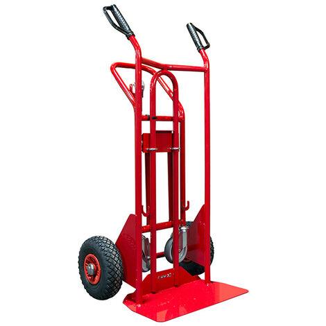 Diable 3 positions acier - Charge max 250kg / 350kg (plusieurs tailles disponibles)