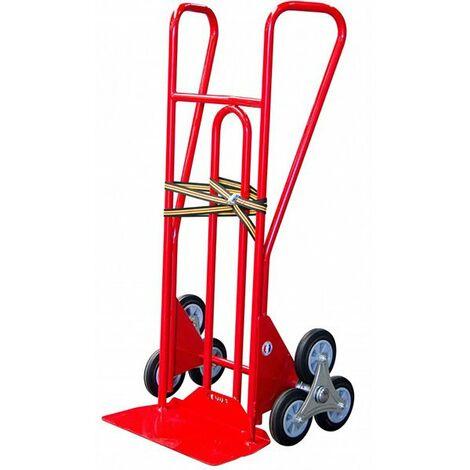 Diable 3 roues - Bavette fixe (plusieurs tailles disponibles)