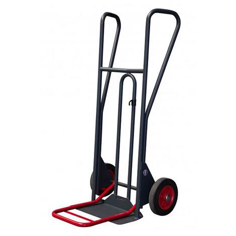 Diable à pelle fixe et pelle rabattable - Charge max 350kg (plusieurs tailles disponibles)