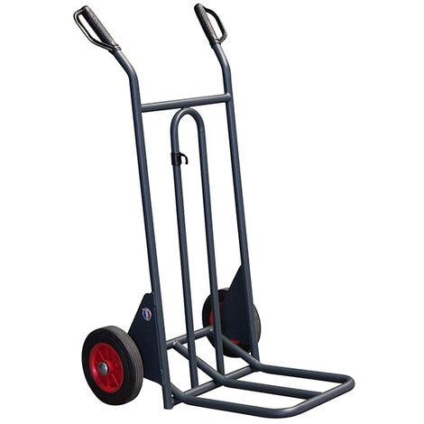 Diable à pelle rabattable - Charge max 350kg (plusieurs tailles disponibles)