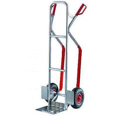 Diable aluminium à pelle rabattable - Charge max 200kg