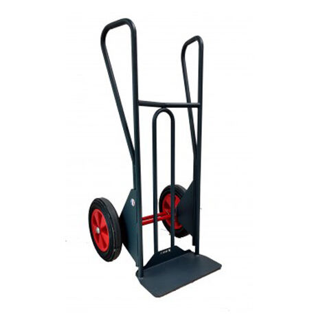 Diable charge lourde à basculement assisté – charge max 350kg (plusieurs tailles disponibles)