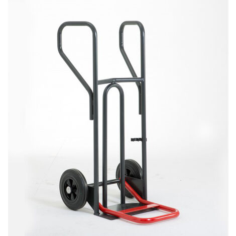 Diable charge lourde à pelle rabattable - 400kg (plusieurs tailles disponibles)