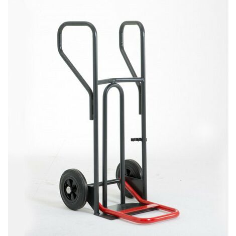 Diable charge lourde à pelle rabattable – charge max 400kg (plusieurs tailles disponibles)