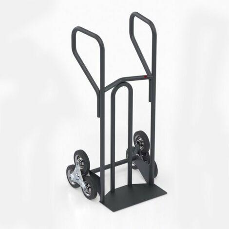 Diable charge lourde monte escalier – charge max 400kg (plusieurs tailles disponibles)