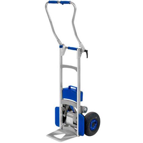 Diable électrique monte escalier pliant - Charges volumineuses (plusieurs tailles disponibles)