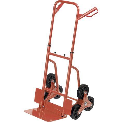 Diable monte-escalier pliable Meister Werkzeuge 8985750 Charge max: 120 kg acier 1 pc(s) S31714