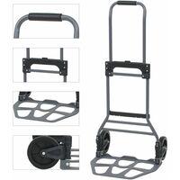 150 kg 5 Chariot roulant universel Meister Werkzeuge 419900 acier Charge max