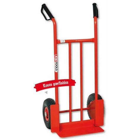 Diable roues gonflables 300 kg