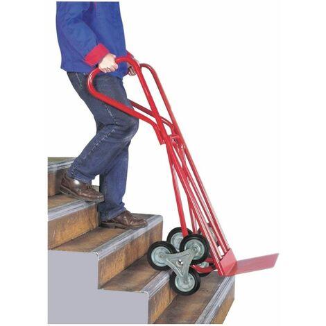 (DIABLE SPECIAL ESCALIER) Diable spécial escalier 400 kg 740 x 540 x 1230