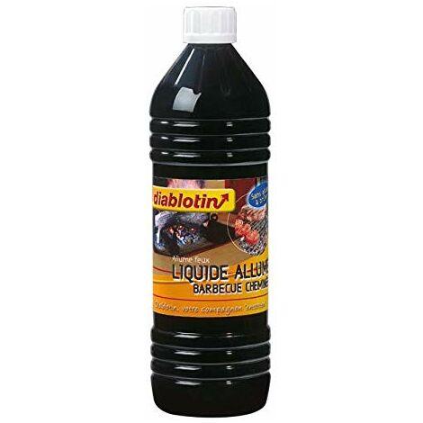 diablotin - Liquide Allume Barbecue & CHEMINÉE, pour Un allumage Rapide - CHAB2 (1)