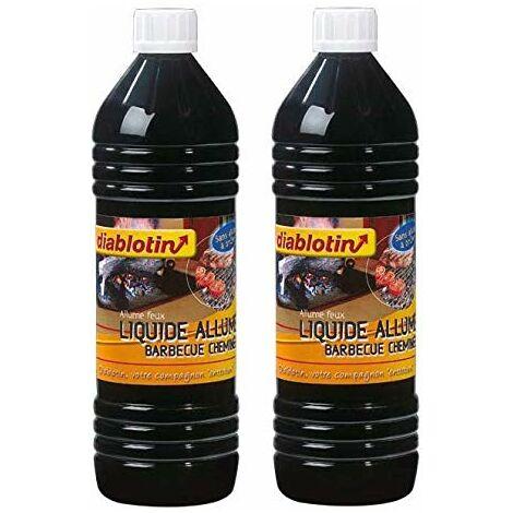 diablotin - Liquide Allume Barbecue & CHEMINÉE, pour Un allumage Rapide - CHAB2 (2)