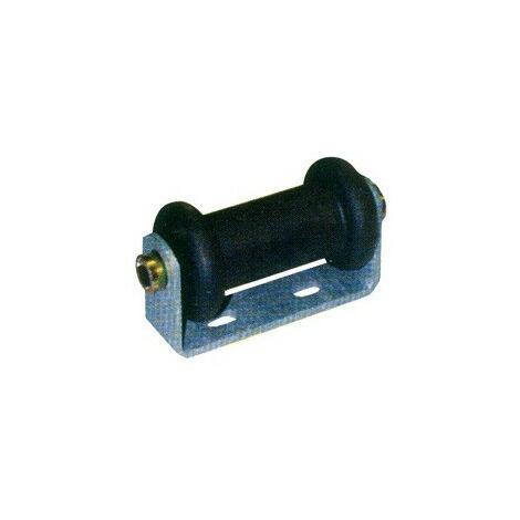 Diabolo Remorque Noir - 170x70x90 mm