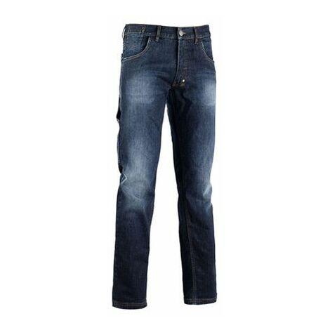 941a6347ef9f1e Jeans Denim stretch 5 poches bleu DIADORA STONE - 15959060002 - Taille  vêtement - 34/36 (S)