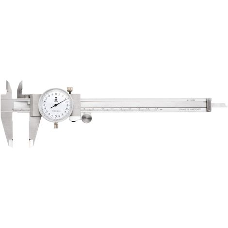 Dial Calipers White Face