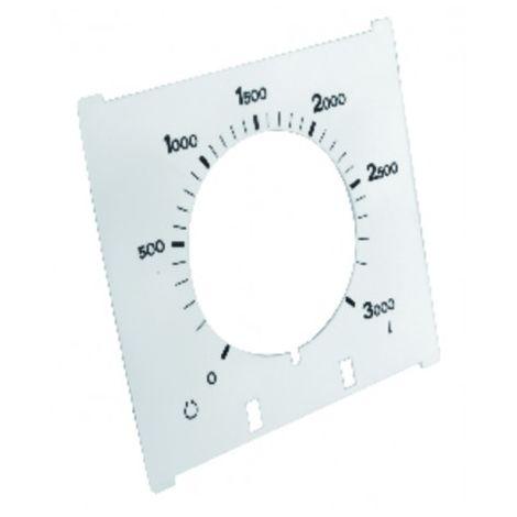 Dial of gauge 3000 liters for tlm3 - WATTS INDUSTRIES : 22L0102105