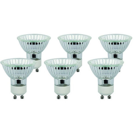 Spot Gu10 De Chaud Ampoules 40w Diall Halogènes 6 Blanc Lot 0wkn8PXO