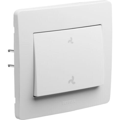 Diam 2 - commande vmc blanc - Debflex