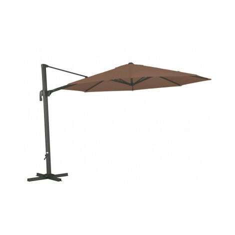 Diam 3.5m Parasol de pie lateral redondo LA2 pho1032007-DESKandSIT-Diam 350cm