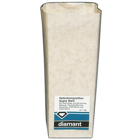 diamant Schleif/Polierpaste 900g supra-weiß