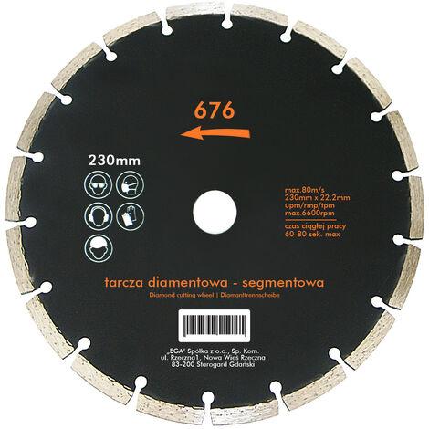 Diamant-Trennscheibe 115 - 230 mm Trockenschnitt