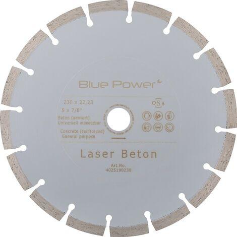 Diamant-Trennscheibe 230mm Beton-SpezialSegmenthöhe 10mm, Bohrung 22,23mm